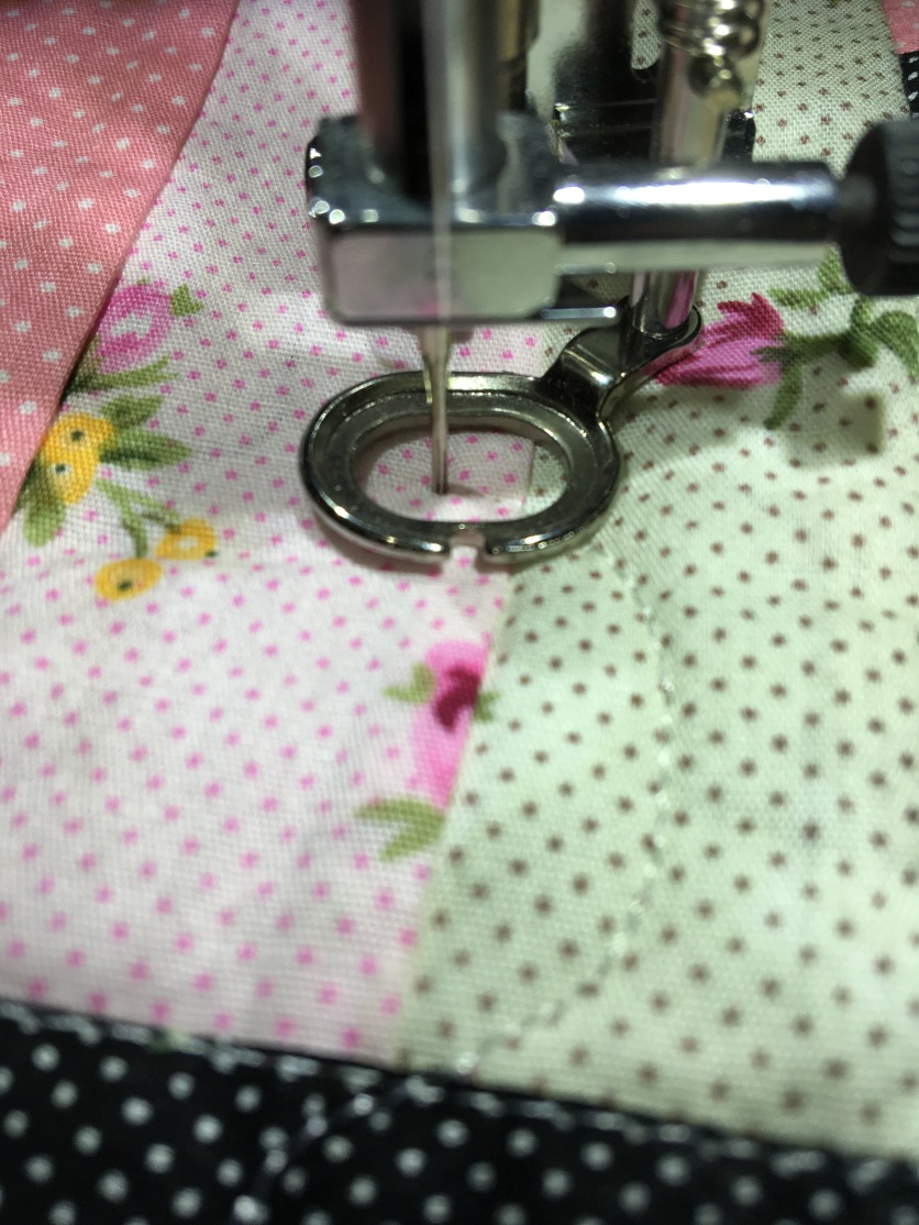 free motion sewing